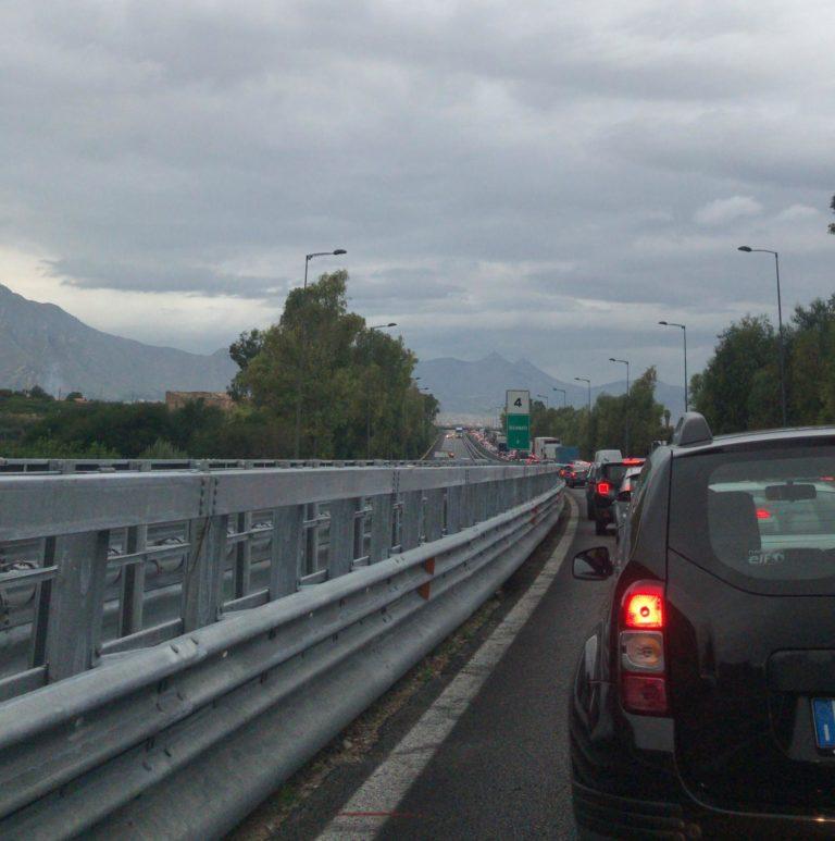 A 19, torna libero il tratto tra Palermo e Villabate: ultimati gli interventi per la nuova pavimentazione