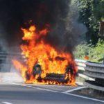 Auto bruciata a carabiniere a Termini Imerese: indagini in corso, parte la macchina della solidarietà