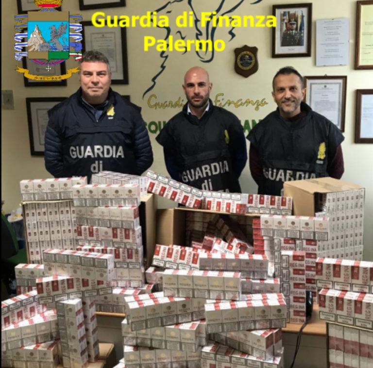 Termini Imerese: la Guardia di Finanza sequestra 100 chili di sigarette di contrabbando FOTO