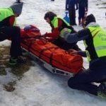 Piano Battaglia: ancora tre incidenti causati da slittini, interviene il Soccorso Alpino FOTO