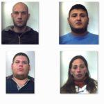 Blitz dei carabinieri: nomi e foto degli arrestati