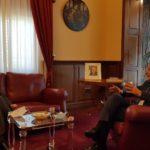 Regione, Musumeci ha ricevuto il neo prefetto di Palermo