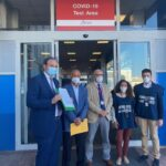 """Emergenza Covid19 : nasce la nuova """"Covid-19 Test Area"""" all'aeroporto di Palermo"""