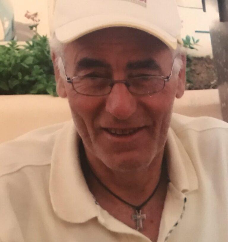 Lutto Termini Imerese: è venuto a mancare Agostino Palmisano