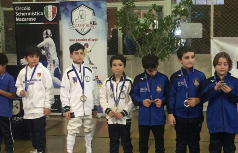 Scudo d'onore di bronzo alla Polisportiva Olimpia di Termini Imerese FOTO E VIDEO