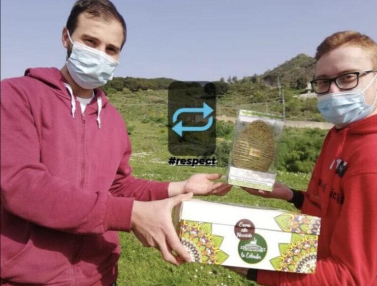 Montemaggiore Belsito: scambio di doni pasquali tra giovani imprenditori