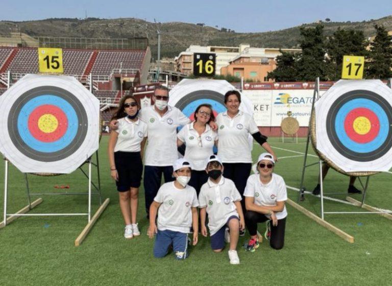 Tiro con l'arco: successi per gli arcieri dell'Asd Polisportiva Olimpia di Termini Imerese