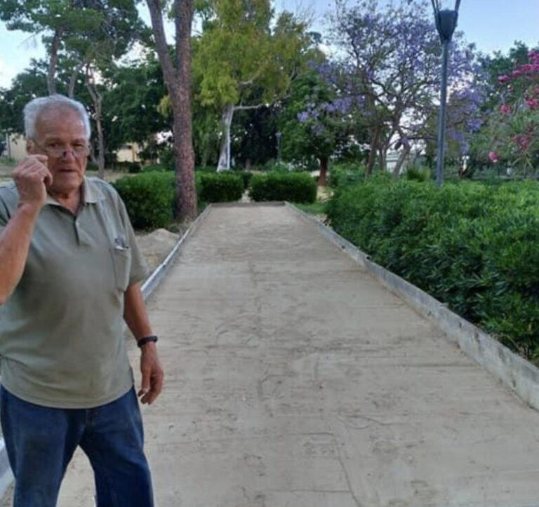 Banca del tempo Himerense: inaugurato il nuovo campo di bocce a villa Aguglia