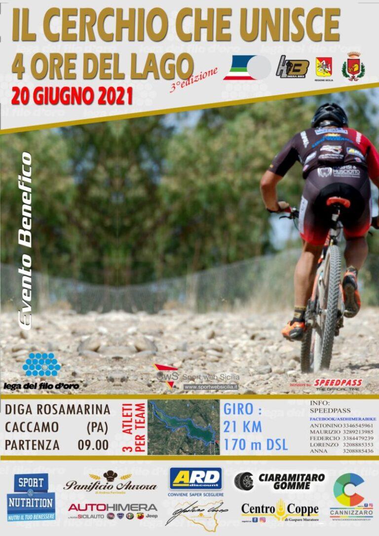 """Sport ciclismo: evento di beneficenza """"Il cerchio che unisce""""  VIDEO"""