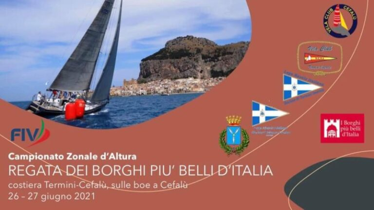 Tutto pronto per la regata dei Borghi più belli d'Italia 2021, si parte da Termini Imerese