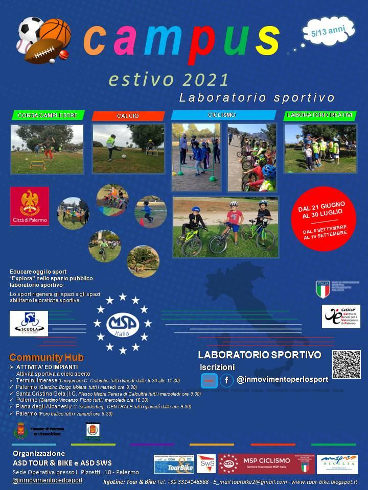 Gioca, impara, cresci: laboratorio sportivo a Termini Imerese dal 21 giugno stage di ciclismo gratuito
