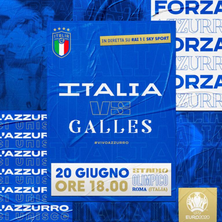 Uefa Euro 2020: attesa per il match Italia-Galles