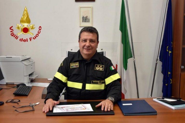 Vigili del fuoco Sicilia: insediato l'ingegnere Ennio Aquilino nuovo direttore regionale
