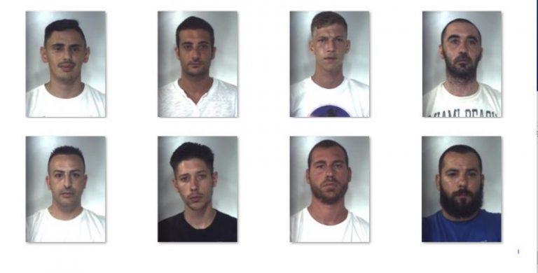 Chili di droga dalla Spagna a Palermo: foto e nomi degli arrestati