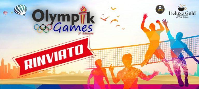 Olimpyk Games: rinviata la seconda edizione a causa dell'aumento dei contagi