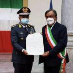 Guardia di Finanza: celebrato il 75° anniversario della consegna della caserma Giuseppe Cangialosi