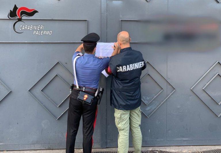 Provincia di Palermo: scoperta officina abusiva, denuncia e sanzioni per oltre 22mila euro