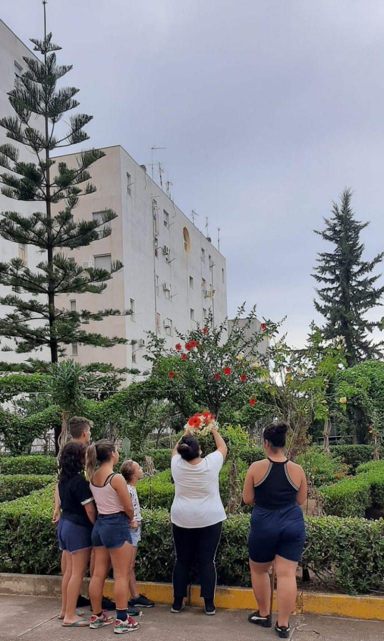 Il quartiere del Beato Agostino Novello ricorda le vittime del terrorismo di New York: piantati due alberi per tenere viva la memoria