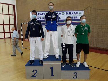 Sport: il campofelicese Giovanni Battista Sciortino diventa vice campione regionale di karate
