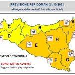 Meteo Termini Imerese e provincia di Palermo: in arrivo temporali e venti di burrasca