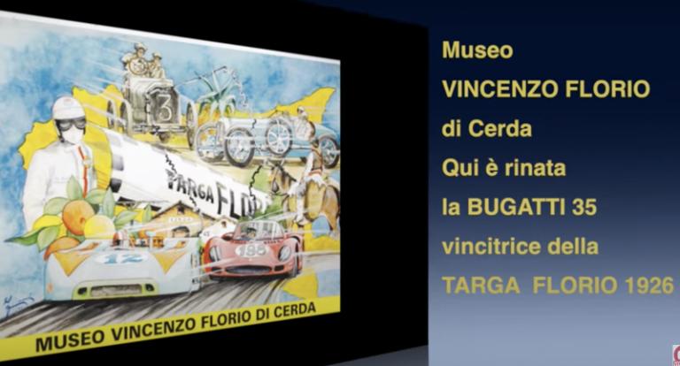 """Nel Museo """"Vincenzo Florio"""" di Cerda è rinata la Bugatti 35 vincitrice della Targa Florio del 1926"""