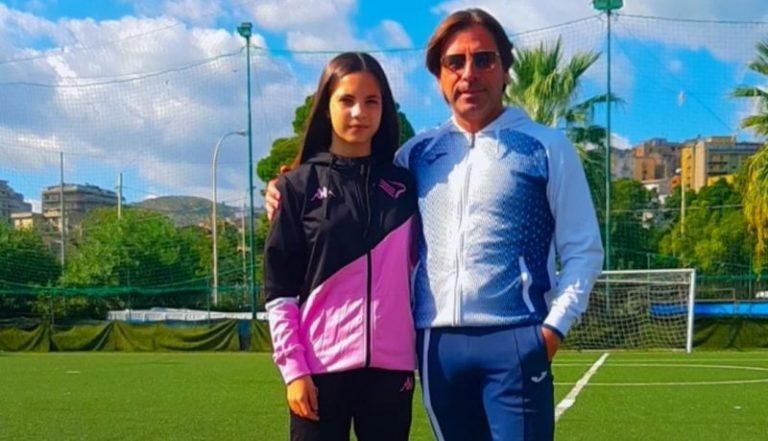 Sport: giovane termitana entra a far parte della squadra professionista femminile del Palermo calcio